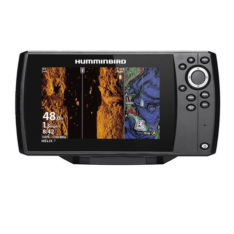 Humminbird 411080-1 HELIX 7 CHIRP Mega SI Fishfinder / GPS Combo G3N