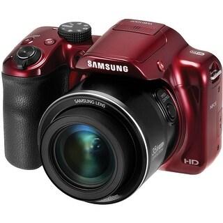 Samsung WB1100F Smart Digital Camera (Red) (International Model)