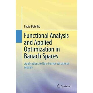 Functional Analysis and Applied Optimization in Banach Spaces - Fabio Botelho