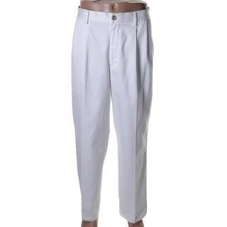 Dockers Mens D3 Twill Classic Fit Khaki Pants - 38/34