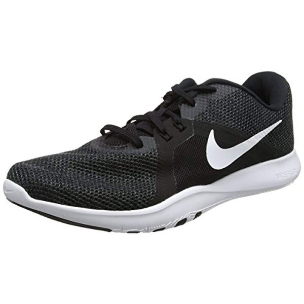 newest a168f d9962 Shop Nike Women s Flex Trainer 8 Cross, Black White-Anthracite, 9.5 Regular  Us - Free Shipping Today - Overstock - 25733486