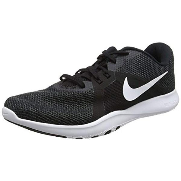 Nike Women's Flex Trainer 8 Cross, BlackWhite Anthracite, 7.5