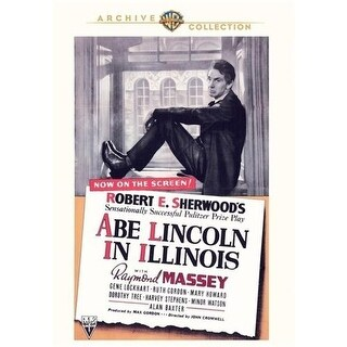 Abe Lincoln In Illinois DVD Movie 1940