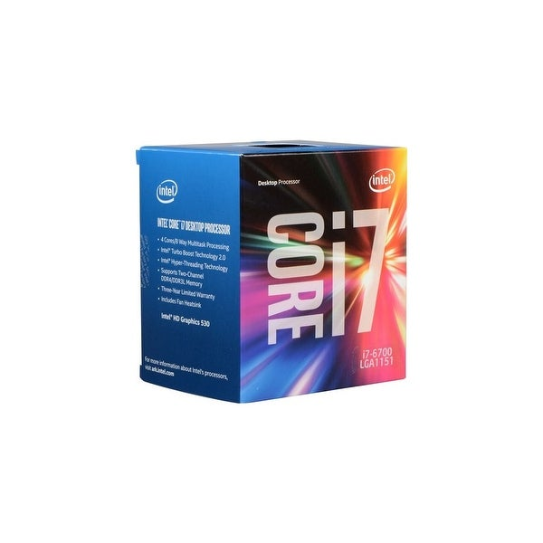 Intel Core i7-6700 Quad Core 3.4GHz Desktop Processor Processors