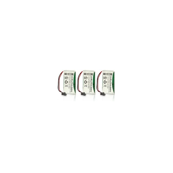 Replacement Battery For Uniden D1780-4 Cordless Phones - BT1008 (700mAh, 2.4V, Ni-MH) - 3 Pack