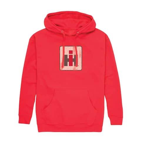 International Harvester Logo Distressed - Men's Pullover Hoodie