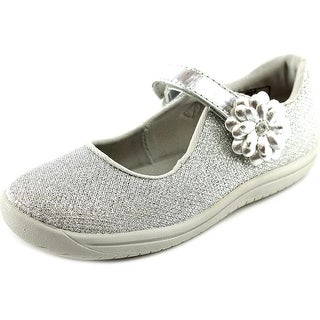 Stride Rite Haylie Round Toe Canvas Mary Janes