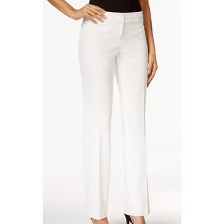 Nine West NEW Bright White Women's Size 4 Straight Leg Dress Pants