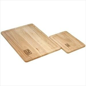 Chicago Cutlery 1079825 Woodworks 2-Pc Rubberwood Set