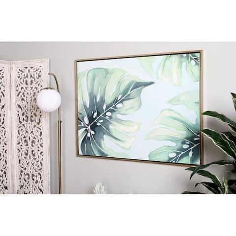 Green Fir Eclectic Framed Wall Art 47 x 36 x 1