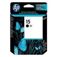 HP 15 Black Original Ink Cartridge (C6615DN) (Single Pack)