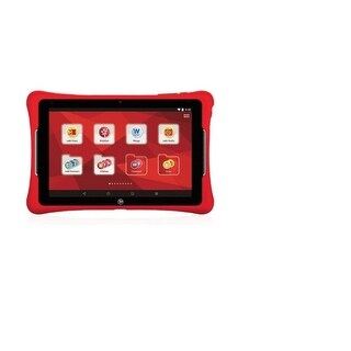 "Nabi Elev-8 8"" Screen 32GB Kids Tablet Red NBX208H00004US Refurbished"