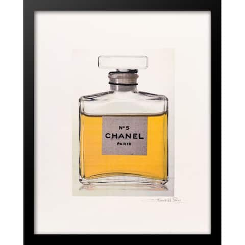"Fairchild Paris - CHANEL NO 5 PERFUME BOT - Framed Wall Art - 14"" x 18"""