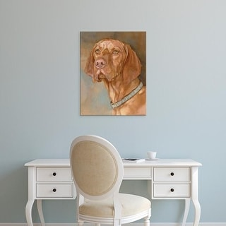 Easy Art Prints Edie Fagan's 'Bennett Vizsla' Premium Canvas Art