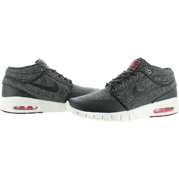 Shop Nike Mens Stefan Janoski Max Mid Skate Shoes Nike Air
