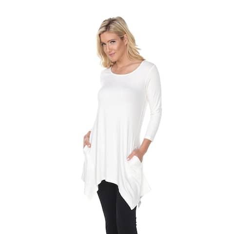 Makayla Tunic Top - White