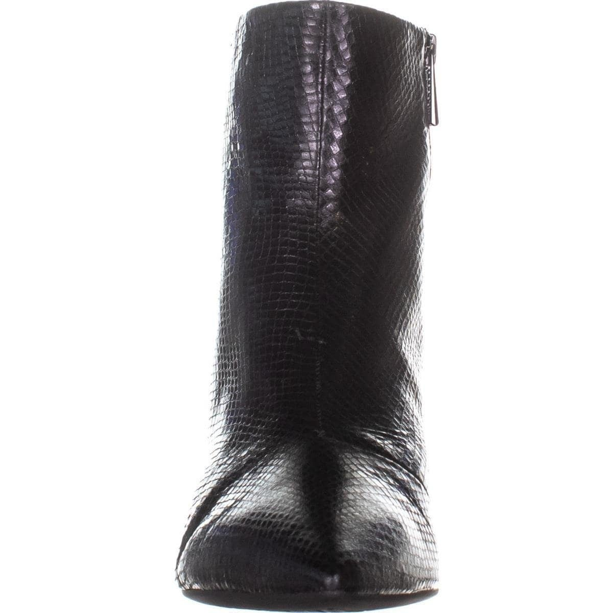 0764af31c87f Shop Michael Michael Kors Womens Blaine Flex Kitten Bootie Leather Pointed  Toe Ank... - 7 - Free Shipping Today - Overstock - 27674591