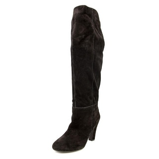 Jessica Simpson Ference Round Toe Leather Knee High Boot