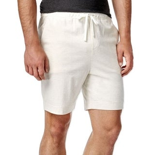 Tommy Hilfiger NEW Ivory White Mens Size XL Casual Drawstring Shorts
