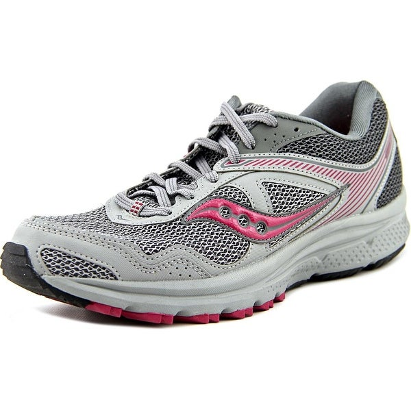 Saucony Cohesion TR10 Plush Women Round Toe Synthetic Gray Running Shoe