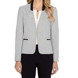 Tahari By ASL NEW White Black Women's Size 18W Plus Collarless Jacket|https://ak1.ostkcdn.com/images/products/is/images/direct/7a041b6d0f1995d6c56c3053a9472de0111a639a/Tahari-By-ASL-NEW-White-Black-Women%27s-Size-18W-Plus-Collarless-Jacket.jpg?impolicy=medium