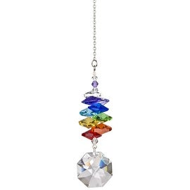 Woodstock Rainbow Makers Crystal Cascade Suncatcher, Genuine Austrian Octagon...