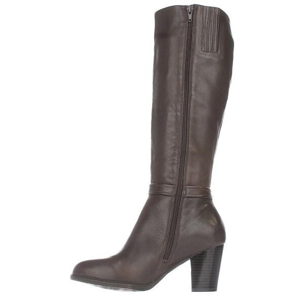 Giani Bernini Womens Raiven Leather Closed Toe Knee High Fashion Boots Fashio...