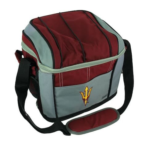 Coleman Arizona State Sun Devils 24 Can Soft Sided Cooler/Lunchbox - Burgundy - 9.25 X 10.5 X 8 inches