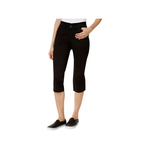 b9845aaa Shop Lee Platinum Label Womens Capri Pants Relaxed Fit Cropped - Free  Shipping On Orders Over $45 - Overstock - 20860234