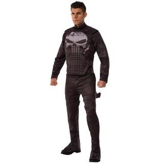 Rubies Marvel Deluxe Punisher Adult Costume - Black