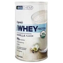 Biochem 100% Whey Protein Vanilla Organic 60 V Tabs