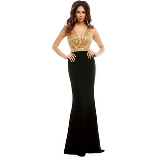 Mac Duggal Womens Embellished Prom Formal Dress - 8