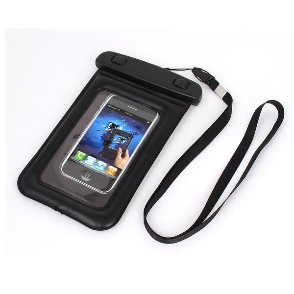Waterproof Swimming Beach Bag Case for 4.5 Cell Phone w Neck Strap