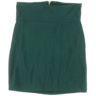 Boulee Womens Stretch Lined Pencil Skirt - 6