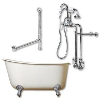 CAM463W-ORB Clawfoot Tub Wall Mount British Telephone Faucet,
