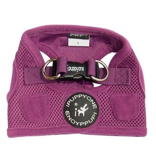 Ipuppyone H11-PR-M Air-Vest Purple Medium Dog Harness