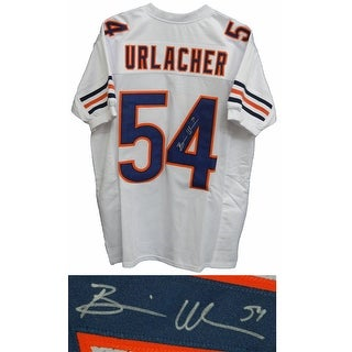 Brian Urlacher White Custom Football Jersey