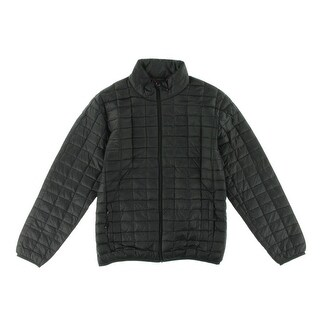 Hawke & Co. Mens Down Box Quilt Packable Coat