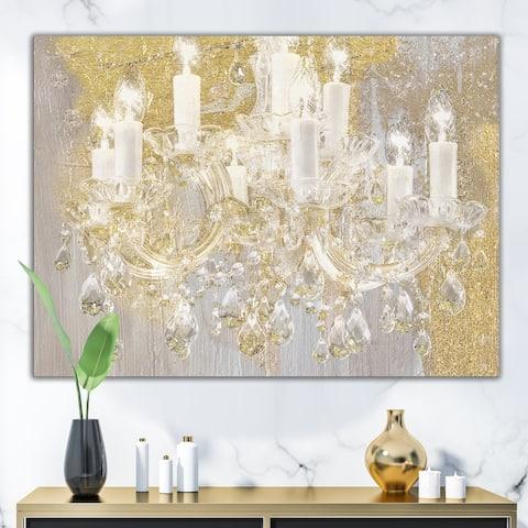 Designart 'Treasured Cottage' Fashion Gallery-wrapped Canvas