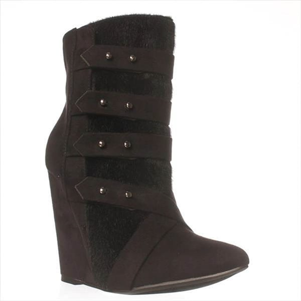 JFab Attaeny Ankle Boots - Black