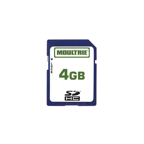 Moultrie MFHP60010 4GB SD Memory Card w/ Write-Protect Switch