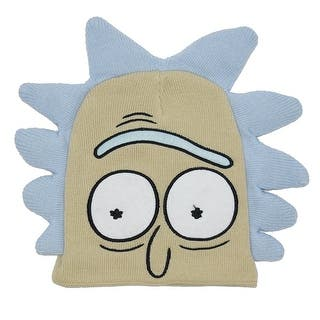 Rick and Morty Rick Cosplay Beanie|https://ak1.ostkcdn.com/images/products/is/images/direct/7a12fe8f6b53afcd82c87324758e923687d21ad9/Rick-and-Morty-Rick-Cosplay-Beanie.jpg?impolicy=medium