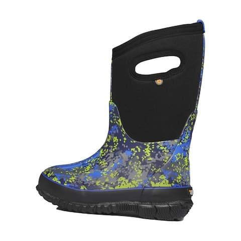 Bogs Outdoor Boots Boys Classic Micro Camo Waterproof