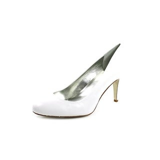 Style & Co Blossomm Round Toe Leather Heels