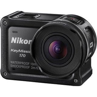 Nikon KeyMission 170 4K Action Camera (Intl Model)