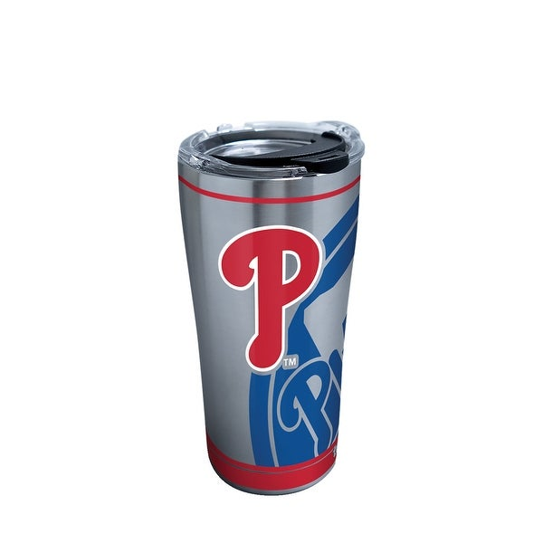5651825879d Shop MLB Philadelphia Phillies Genuine 20 oz Stainless Steel Tumbler with  lid - Free Shipping On Orders Over $45 - Overstock - 23047269