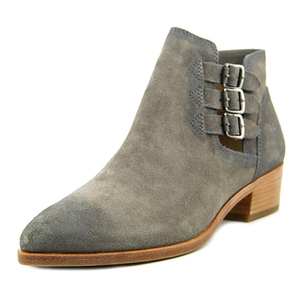 Frye Ray Belted Bootie Women  Round Toe Suede  Bootie
