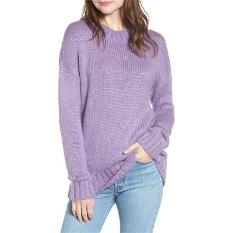 French Connection Womens Snuggle Pullover Sweater