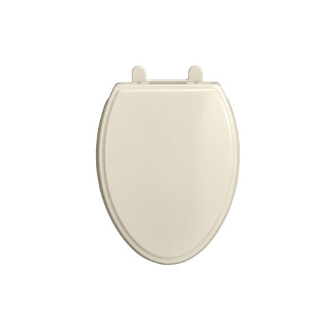 American Standard 5020A.65G Elongated Closed-Front Toilet Seat with Soft Close, - LINEN - N/A