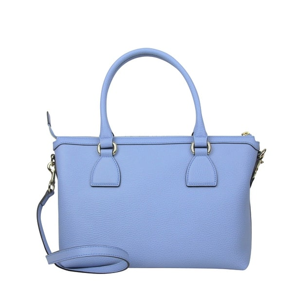 cf3116a23ce ... Gucci GG Charm Powder Blue Leather Medium Convertible Straight Bag With  Strap 449659 4503 ...